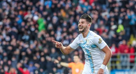 Rijeka pogotkom Čolaka svladala Dinamo i plasirala se u polufinale kupa