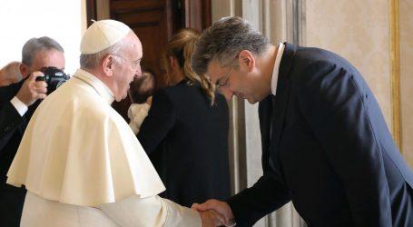 SLUŽBENI POSJET SVETOJ STOLICI: Plenković danas s Papom