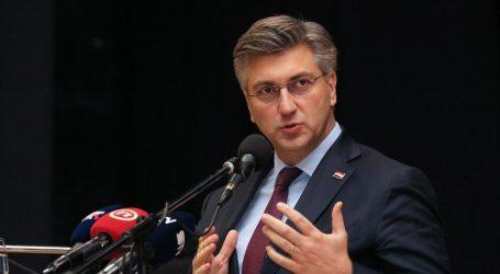 """Plenković poručio oponentima: """"Ne vidim da su oni nešto agilni, ja sam agilniji"""""""