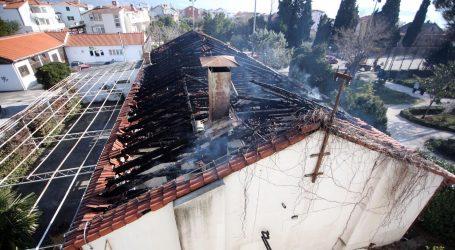 U požaru u Kaštel Štafiliću učinjena šteta od više milijuna kuna