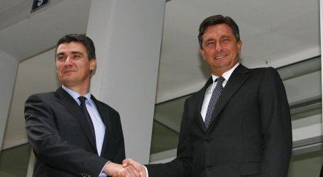 Grabar-Kitarović završila mandat s Pahorom, Milanović ga počinje