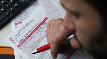 POREZNA UPRAVA: Zadnji dan za podnošenje godišnje prijave poreza na dohodak je 2. ožujka