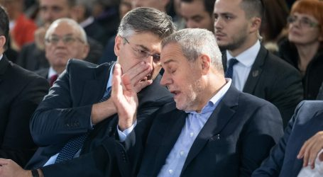 Plenković i Bandić izbjegavali novinarska pitanja o zagrebačkom GUP-u i koaliciji