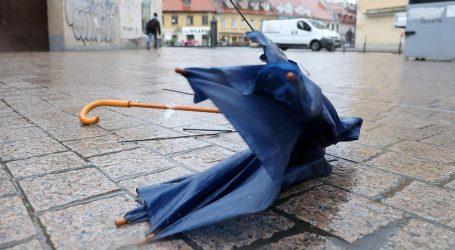 Zbog jakog vjetra izdano posebno upozorenje za Zagreb