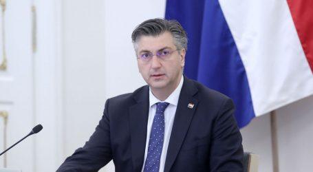 """Plenković: """"S Milanovićem smo postigli suglasnost o imenovanju Hranja na mjesto načelnika Glavnog stožera"""""""