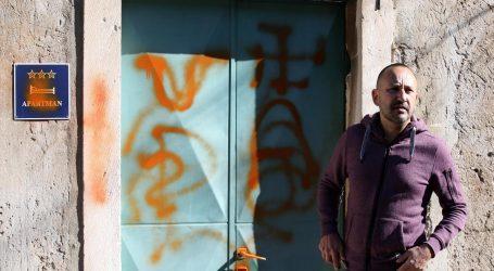 Zekanoviću išarali kuću grafitima ustaških i nacističkih motiva