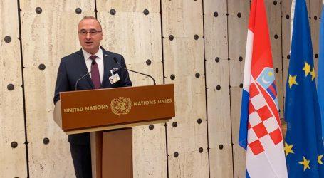 Grlić Radman govorio o nestalima na UN-ovu vijeću za ljudska prava