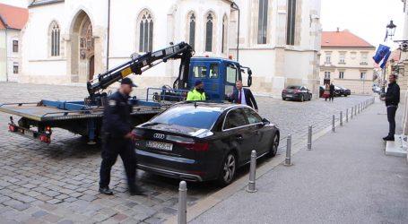 """Krešo Beljak parkirao Audi na ulaz u Sabor i umalo ga podigao """"pauk"""""""