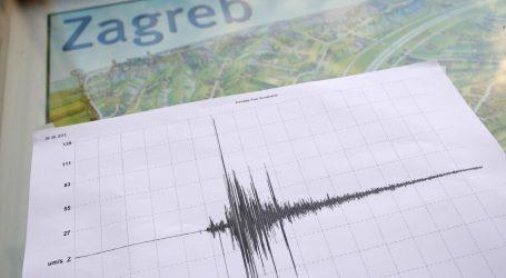 Potres magnitude 2.5 u Zagrebu