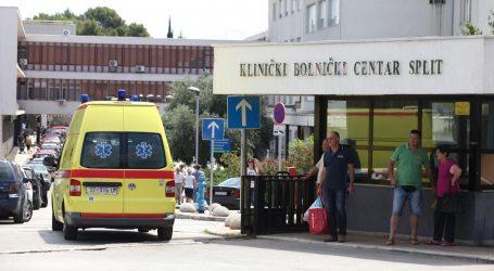 Požar u splitskom KBC-u, dimi se na onkologiji