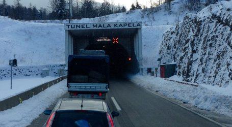 TUNEL MALA KAPELA: Jedna osoba poginula u prometnoj nesreći