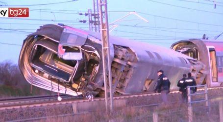 Kod Milana vlak iskočio iz tračnica, poginule dvije osobe