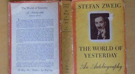 Stefan Zweig i njegov 'jučerašnji svijet'