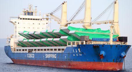 U Hrvatsku dolazi kineski brod s opremom za Pelješki most