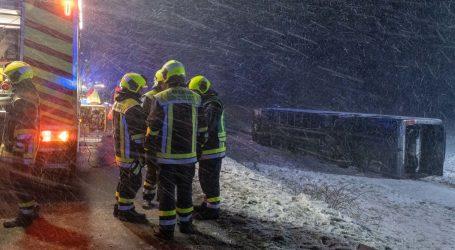 Nesreća hrvatskog autobusa u Njemačkoj: Osam ozlijeđenih, dvoje teže