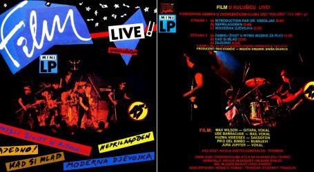 Legendarni nastup grupe Film u Kulušiću bio je u veljači 1981.