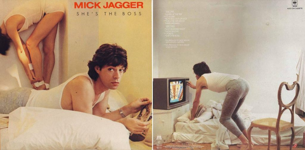 PRVI SOLO ALBUM: 'She's the Boss', rekao je 1985. Mick Jagger