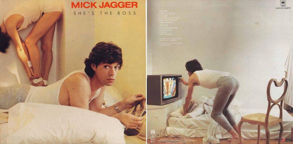 PRVI SOLO ALBUM: 'She's the Boss', rekao je 1985. Mick Jagger