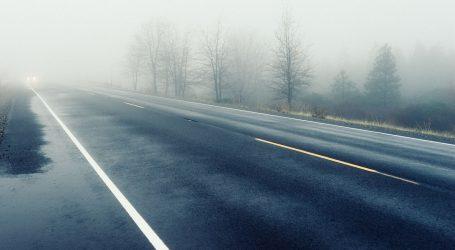 HAK upozorava na mokre kolnike i maglu, prometna nesreća kod Labina