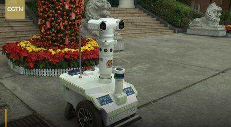 VIDEO: Robotsko vozilo mjeri temperaturu građana