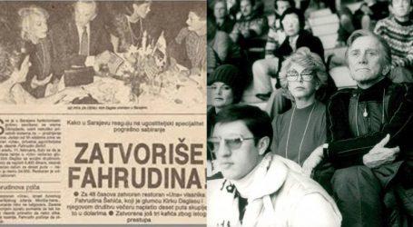 Kirk Douglas bio je na Olimpijadi u Sarajevu, večeru mu 'papreno' naplatili