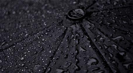 Promjenjivo oblačno i toplo, u unutrašnjosti kiša