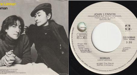Lennon je 'Woman' napisao kao odu supruzi Yoko Ono
