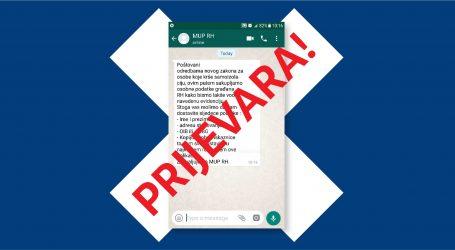 UPOZORENJE POLICIJE: Ne dijelite osobne podatke putem mobilnih aplikacija!