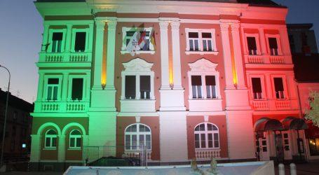 PODRŠKA: Zgrada Karlovačke županije bit će osvijetljena u bojama talijanske zastave