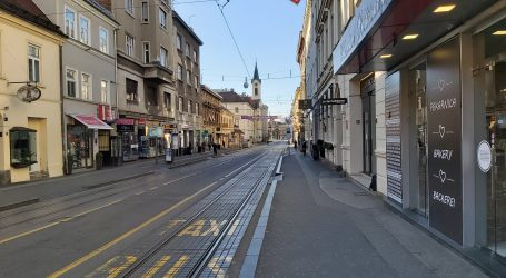 VIDEO: Ulice puste, tramvaji prazni, popularna okupljališta bez ljudi