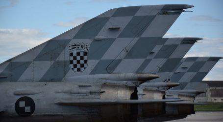 MORH: Redovite letačke aktivnosti eskadrile lovačkih aviona HRZ-a obavljaju se uredno po rasporedu