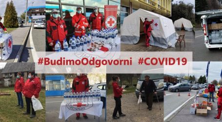 """Zorić: """"Ekipe Crvenog križa postavljaju šatore i pomažu građanima, apeliraju na oprez zbog koronavirusa"""""""