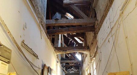 Muzej za umjetnost i obrt pretrpio velika oštećenja