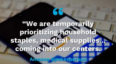 Amazon dao prioritet kućnim potrepštinama i medicinskim proizvodima