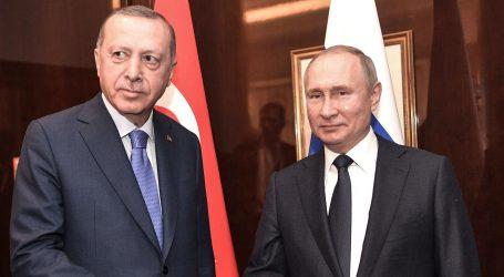 Putin i Erdogan danas o smanjenju napetosti u Siriji
