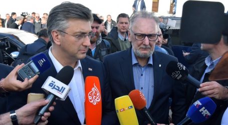 """Božinović poručio da policija """"kontrolira granicu i situaciju"""""""