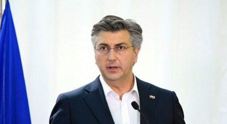 """PLENKOVIĆ: """"Hrvatska je, kao i Europa i svijet, u ratu protiv koronavirusa…"""""""