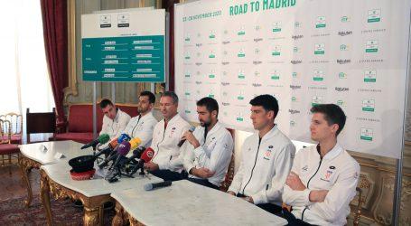 Davis Cup: Gojo uz Čilića u singlu, otvara protiv Gunneswarana
