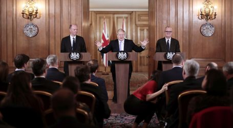 Britanska ministrica zdravlja zaražena koronavirusom, bila na eventu premijera Johnsona