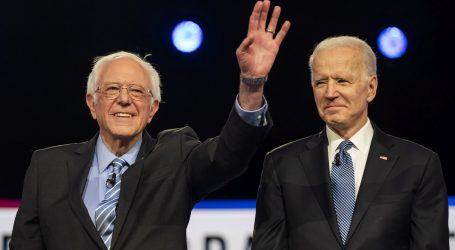 """Prvo televizijsko sučeljavanje """"jedan na jedan"""" Bidena i Sandersa"""