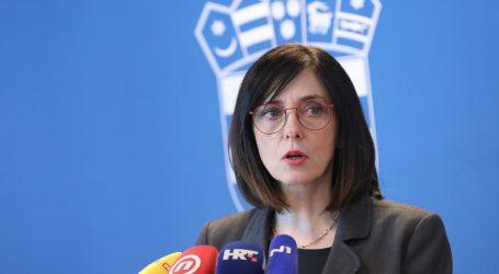 Ministrica Divjak održala virtualni školski sat s ravnateljima osnovnih i srednjih škola