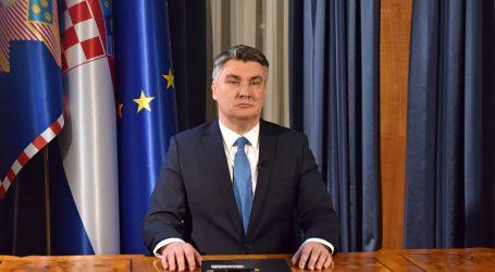 """Milanović: """"Ovo je prilika da pokažem da smo zreli ljudi, da smo odgovorni pojedinci"""""""