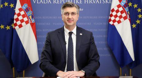 """Plenković: """"Živimo u novom normalnom…Ovo što sada živimo je tu s nama"""""""