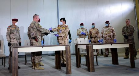 Koalicijske snage povukle se iz baze na sjeveru Iraka