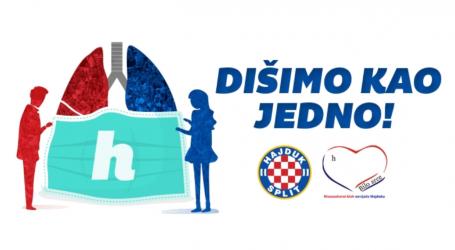 Hajduk zajedno s humanitarnom udrugom navijača kluba pokrenuo novu akciju pomoći pri borbi s koronavirusom