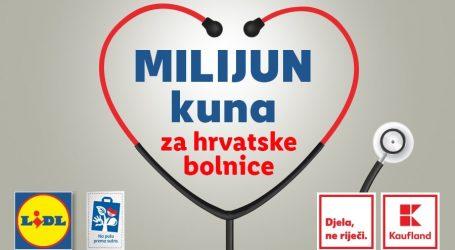 Donirano milijun kuna hrvatskim bolnicama