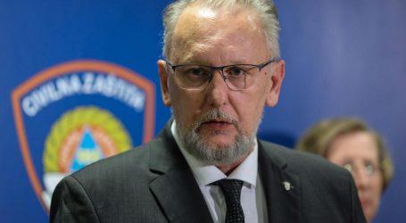 Ministar Božinović potvrdio 25. slučaj zaraze koronavirusom 'Ono što je napravio je najodgovornije što je mogao napraviti'