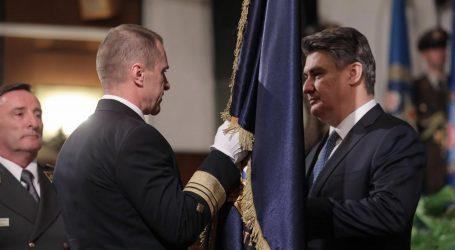 Milanović promaknuo Hranja u čin admirala pomorstva