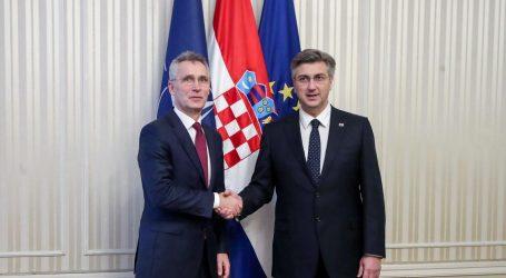 "Stoltenberg o Hrvatskoj: ""Vi ste veliki borac NATO-ove politike"""