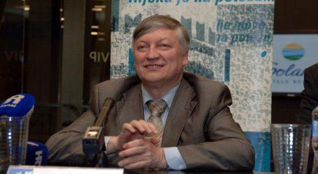 Anatolij Karpov u Rijeci povodom održavanja Gospodarskih igara Primorsko-goranske županije